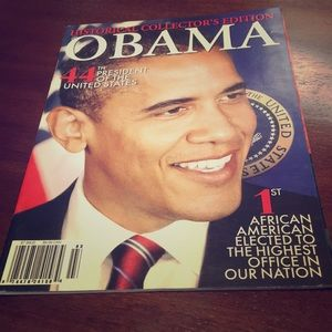 Historical Collector's Edition magazine Obama